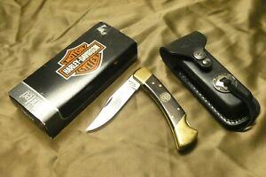 Harley Davidson United Cutlery Folding Knife HD39 4 7/8 Premium Lockback w/ Box