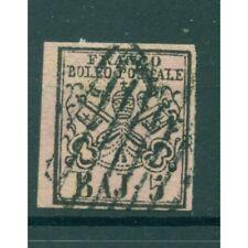 Etats Pontificaux 1852/64 - Y & T. n. 6 - Armoiries 5 baj. (xv)