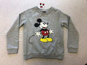 Sweatshirt Pullover Mickey Gr. 140/146 und 164/170  NEU
