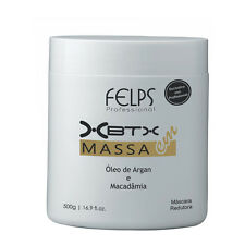 HAIR BOTOX ARGAN OIL MACADAMIA SMOOTHING TREATMENT XBTX FELPS 500g 17oz
