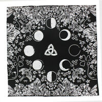 Handmad Zodiac Tarot Cloth Decor Divination Card Wicca Velveteen Square Tapestry