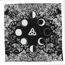 Handmad Zodiac Tarot Cloth Decor Divination Card Wicca Velveteen Square Tapestry