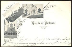 Ricordo di Pordenone, municipio  - Pordenone (Friuli Venezia-Giulia) - 2118