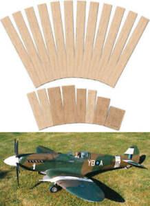 "Spitfire Mk.XIV & XIX 69"" Short Kit RC Model Aircraft for Scratch Building"