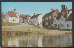 Essex Postcard - Finchingfield From The Pond    T3668