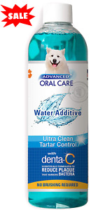 Water additive for Pets Fresh Dog Breath Teeth Plaque Tartar Removal Dental Care