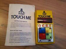 Atari Touch Me Handheld Memory Skill Game WORKS Vintage Simon