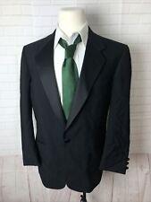 Perry Ellis Men's Black Solid Wool Tuxedo 44R $438