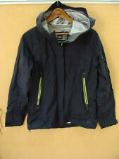 REI Event Waterproof Fabric Womens Black Hooded Jacket Size S Small