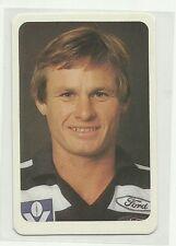 AFL 1981 ARDMONA GEELONG CATS JACK HAWKINS #26 CARD