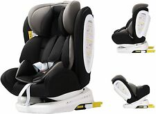 Silla de Coche Grupo 0 1 2 3 Isofix Travel -Reclinable - Giratoria 360º- Reacond
