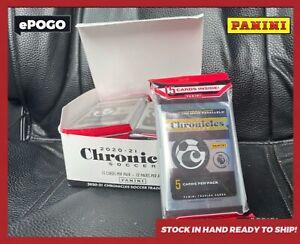 2020-21 Panini Chronicles Soccer 12 Pack CELLO BOX 15 cards per pack Ronaldo ✅