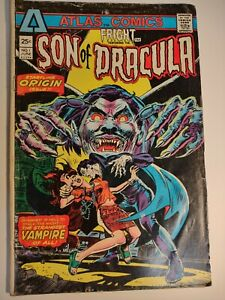 Fright: Featuring Son of Dracula 1st Appearance Issue