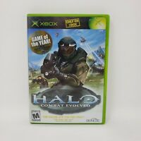 Halo: Combat Evolved (Microsoft Xbox, 2001) Complete Manual Tested Works CIB