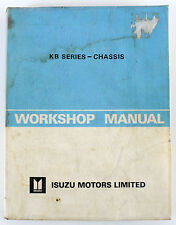 Isuzu KB Series Truck  1982 factory workshop manual for chassis