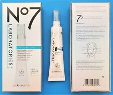 Boots No7 Laboratories Line Correcting Booster Serum 1 x 25ml NEW LARGER SIZE