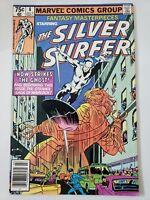 FANTASY MASTERPIECES #8 (1980) THE SILVER SURFER! JOHN BUSCEMA! STARLIN WARLOCK!