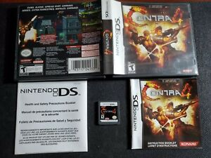Contra 4 (Nintendo DS, 2007) - Complete In Box