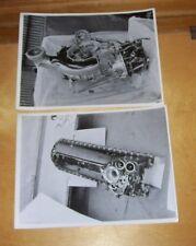 ROYAL AIRCRAFT ESTABLISHMENT ORIGINAL PHOTOGRAPHS AERO ENGINE PARTS JULY 1938