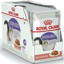 Royal Canin Cat Food Sterilised in Gravy, 12 x 85g - Helps Maintain Ideal Weight