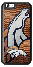 NFL Denver Broncos Hard Case Cover for iPhone 6 iPhone 6s Orange/White