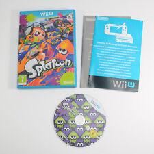 Splatoon - Boxed & Complete - VERY GOOD CONDITION - Nintendo Wii U PAL