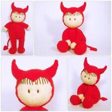 Halloween Jo-Jo doll knitting pattern