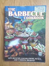 Cook Book BARBECUE Recipes Party Lunch Picnic Cookery Australian Womens Weekly