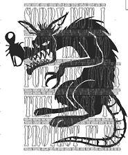 Mean looking Rat Rat rod Hot rod Rat look Rust decal sticker vinyl vw audi euro