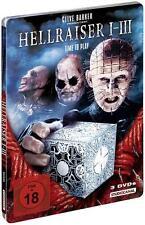 Hellraiser I-III (3 Discs, gekürzte Fassungen) NEU OVP