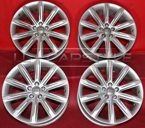 4 Audi Original  A7 8j 19 zoll et26 Felgen 4G8601025K   1107F