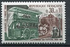TIMBRE FRANCE NEUF luxe N° 1589 ** JOURNEE DU TIMBRE OMNIBUS FACTEURS