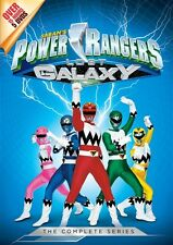 POWER RANGERS LOST GALAXY COMPLETE SERIES New Sealed 5 DVD Set