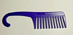 MONAT Hair Care Styling Deluxe Shower Wide Toothed Wet Purple Comb 1 Pc
