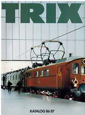 Trix Gesamtkatalog 1986 / 1987