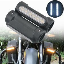 "2x 1.25"" Highway Crash Bar Engine Guard LED Turn Signal Light for Harley Victory"