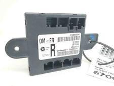 2013-2016 DODGE RAM 1500 RIGHT FRONT DOOR CONTROL MODULE 68225100AA OEM 2014