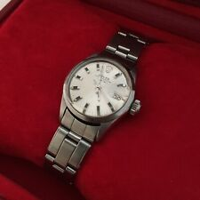 Rolex Watch Oyster Perpetual Datejust Ladies 1970 Steel 24mm