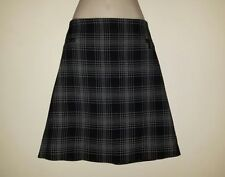 Marks and Spencer Polyester Checked A-line Skirts for Women