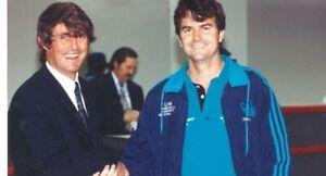 VTG Adidas USMNT vs Uruguay 1991 Officials Trefoil Windbreaker Jacket XL