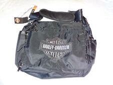 Harley-Davidson baby Embroidered Bar and Shield Diaper Bag