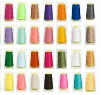 Hand Stitching Threads Embroidery Sewing Machine Cone Yarn Durable Fabric Thread