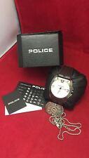 Police Herren Armbanduhr Leder  Band