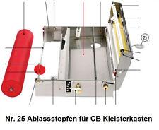 Tapofix Ersatzteil Nr. 25 Ablassstopfen für CB Kleisterkasten - für alle CB -