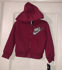 Nike Toddler Girl Jacket Hot Rush Pink Size 2t MSRP $48
