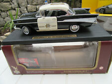 CHEVROLET BEL AIR POLICE CHIEF (1957) ROAD LEGENDS  1/18