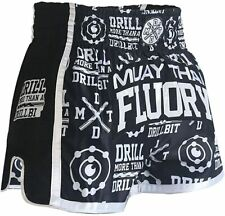 Fluory Muay Thai Shorts Size:Xs S M L Xl 2Xl 3Xl 4Xl, Boxing Shorts for Men/Wome