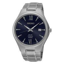 Relojes de pulsera fechos titanios Seiko