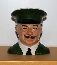 SMALL CARLTON WARE HARRODS DOORMAN CHARACTER JUG
