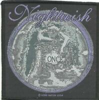 NIGHTWISH once 2004 - WOVEN SEW ON PATCH - official merch - no longer made